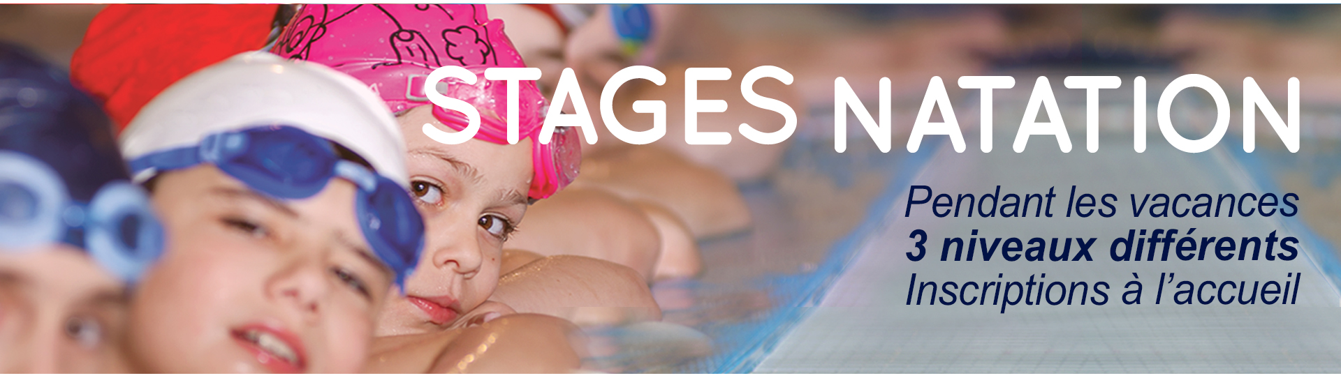 Stages natation enfant
